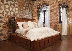 Valentijnsactie Airbnb - bed van Romeo & Julia